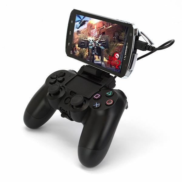 How to connect PS4 controller to the tablet